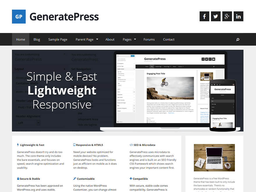 GeneratePress Premium (2.0.0 RC1) - The Entire Collection of GeneratePress Premium Modules