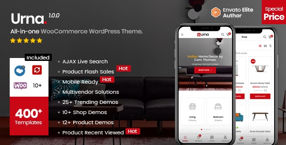 Urna - All-in-one WooCommerce WordPress Theme (2.3.0)