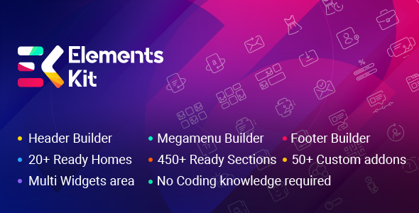 Elements Kit (2.2.1) - The Ultimate Addons for Elementor Page Builder