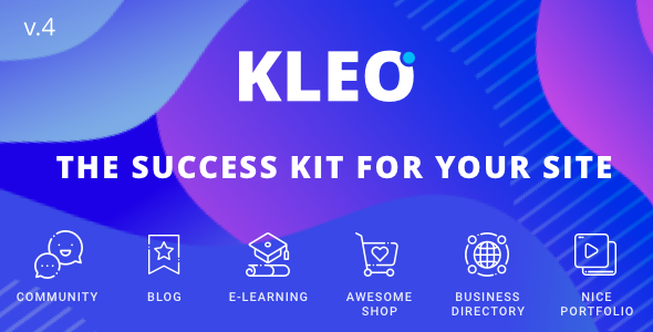KLEO (5.0.1) - Pro Community Focused, Multi-Purpose BuddyPress WordPress Theme