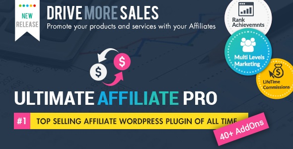 Ultimate Affiliate Pro WordPress Plugin (5.8) - партнерская программа WordPress