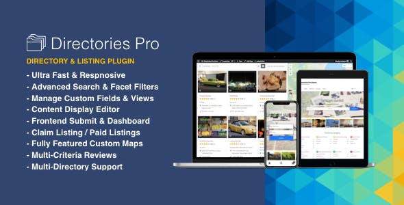 Directories Pro (1.3.51) - плагин каталога для WordPress