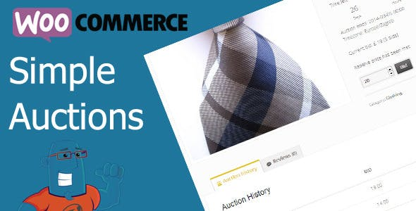 WooCommerce Simple Auctions (1.2.39) - плагин для аукциона WooCommerce