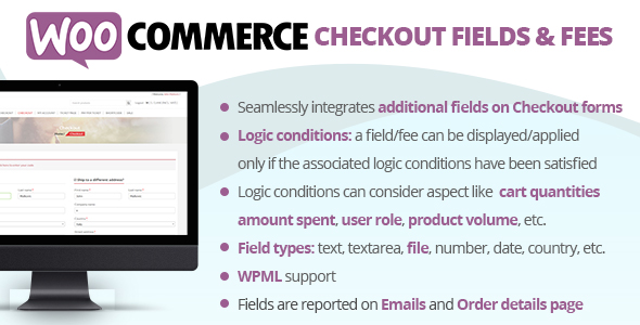 WooCommerce Checkout Fields & Fees (7.1)