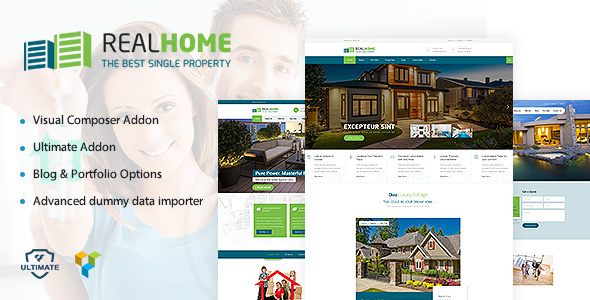 Single Property (2.0) - Real Estate WordPress Theme