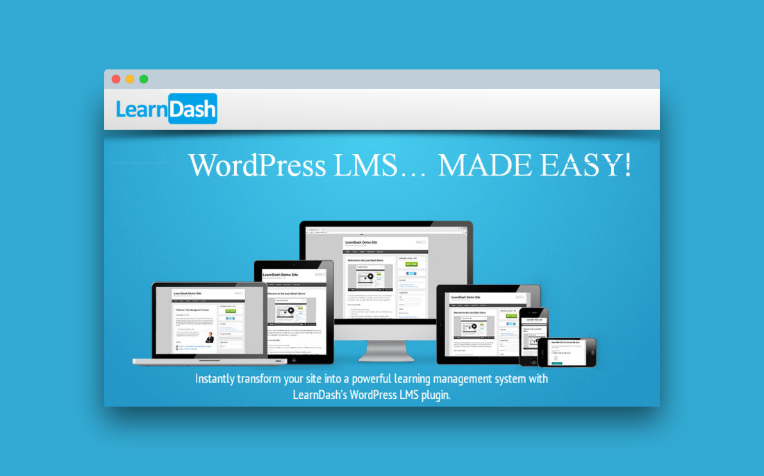 LearnDash LMS (3.2.3.4 + Addons) - система управления обучением (LMS) на WordPress
