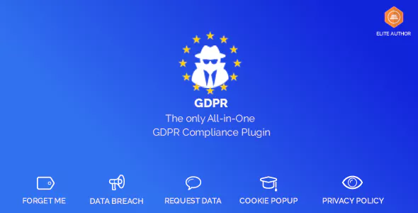 WordPress GDPR (1.9.0) - GDPR плагин WordPress