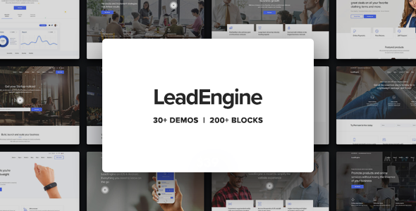 LeadEngine - Multi-Purpose WordPress Theme with Page Builder (2.9)