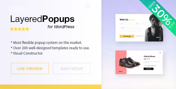 Green Popups - Popup Plugin for WordPress (formerly Layered Popup) (7.24)
