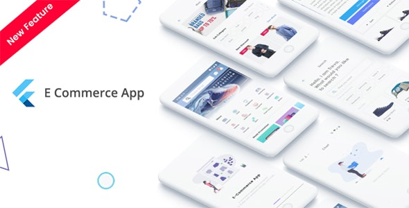 Flutter (1.0) - E-Commerce UI KIT