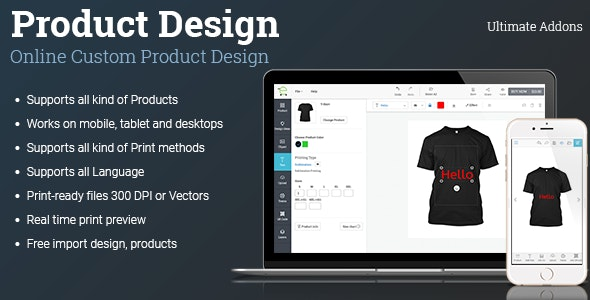 Ultimate Addons for Custom Product Designer (1.12.0)