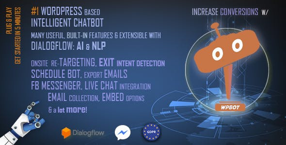 ChatBot for WordPress (10.4.7) - лучший плагин ChatBot для WordPress