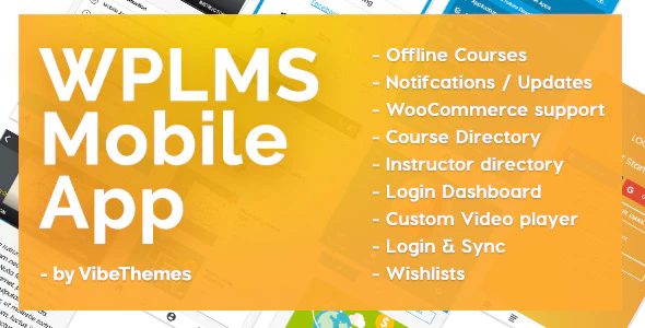 WPLMS Learning Management System App for Education & eLearning (2.6)