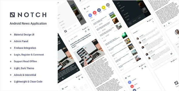 Notch (1.0) - Android News Application