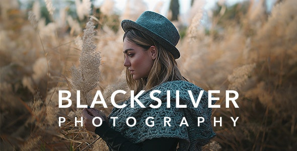 Blacksilver | Photography Theme for WordPress (8.5.8)