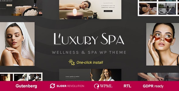 Luxury Spa (1.1.3) - Beauty Spa & Wellness Resort Theme