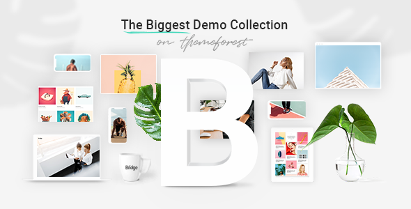 Bridge (25.9) - Creative Multipurpose WordPress Theme
