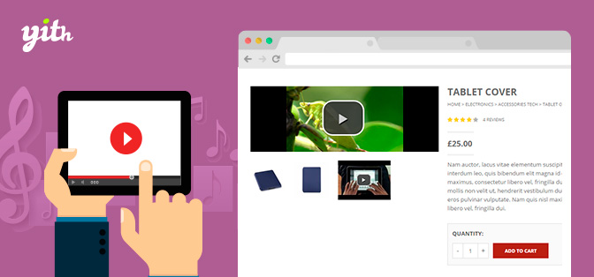 YITH WooCommerce Featured Audio & Video Content Premium (1.3.1)