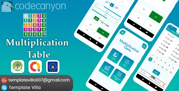Multiplication Table, Learn and Play (1.0)