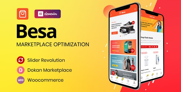 Besa - Elementor Marketplace WooCommerce Theme (1.3.0)