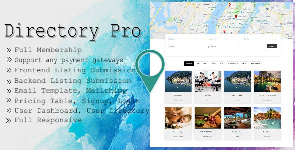 Directory Pro (2.1.0) - WordPress Plugin