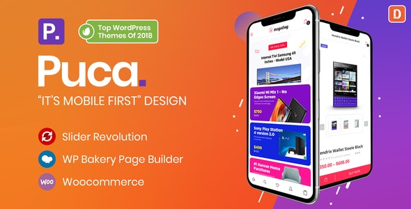 Puca - Optimized Mobile WooCommerce Theme (2.2.12)