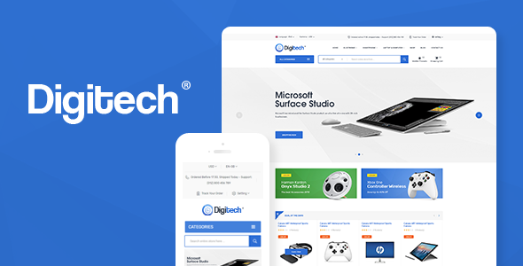 Digitech - Technology Theme for WooCommerce WordPress (1.1.4)