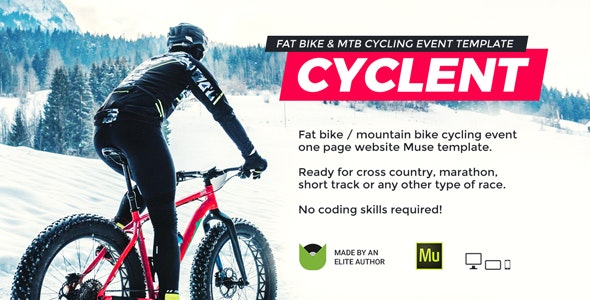 Cyclent (1.0) - Mountain Bike Event Template