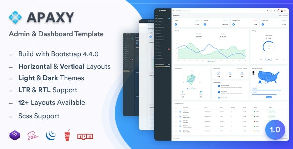 Apaxy (1.0) - Admin & Dashboard Template