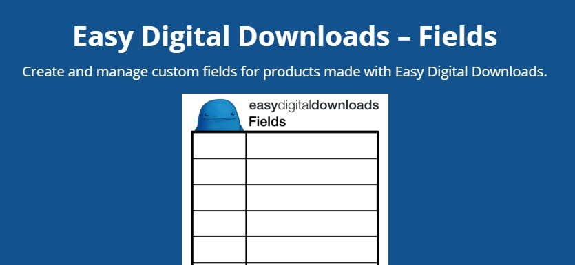 Easy Digital Downloads Fields Addon (1.0.5)