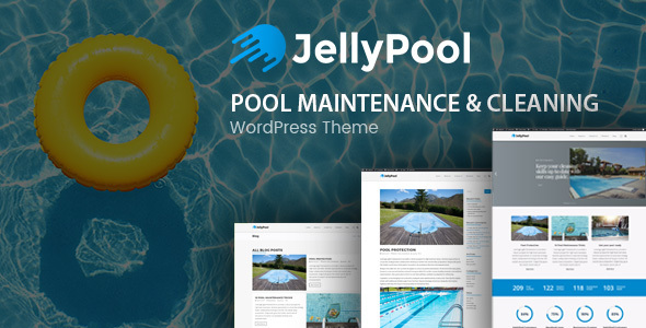 JellyPool (1.2.2) - Pool Maintenance & Cleaning WordPress Theme