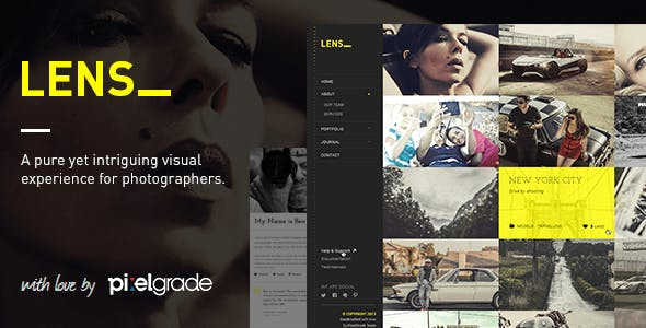 LENS (2.5.3) - An Enjoyable Photography WordPress Theme
