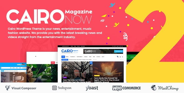 Cairo (2.1) - Newspaper & Magazine WordPress Theme