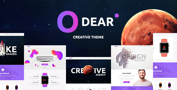 Odear (1.1.2) - Multi-Concept Creative WordPress Theme