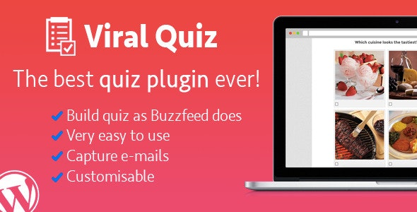 Wordpress Viral Quiz (4.0) - BuzzFeed Quiz Builder