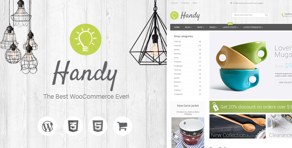 Handy (5.2.0) - Handmade Shop WordPress WooCommerce Theme