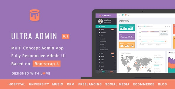 Ultra (6.1) - Multi Purpose Admin Theme