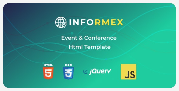 Informex (1.0.0) - Conference & Business Html Template