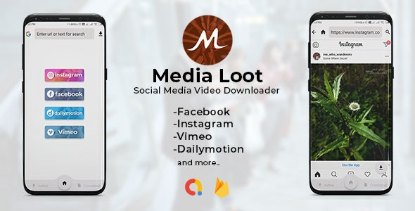 Media Loot (1.0) - The Ultimate Social Media Downloader