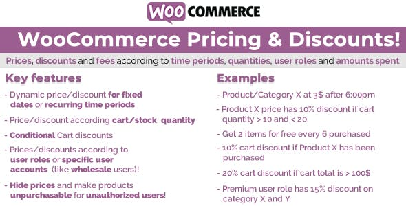 WooCommerce Pricing & Discounts! (12.8)