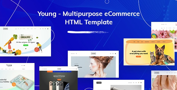 Young (1.0) - Multipurpose eCommerce HTML Template