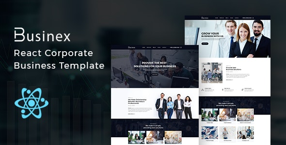 Businex (1.0.1) - React Corporate Business Template