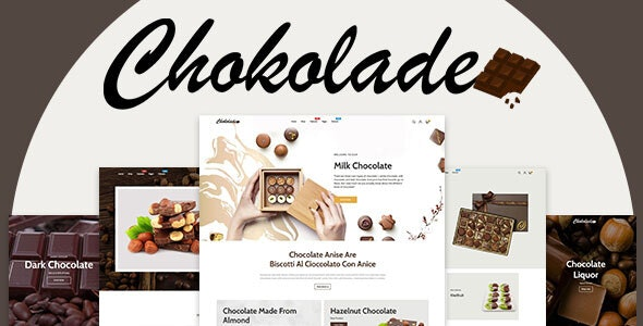 Chokolade (1.0.0) - Chocolate Sweets & Candy And Cake Shopify Theme