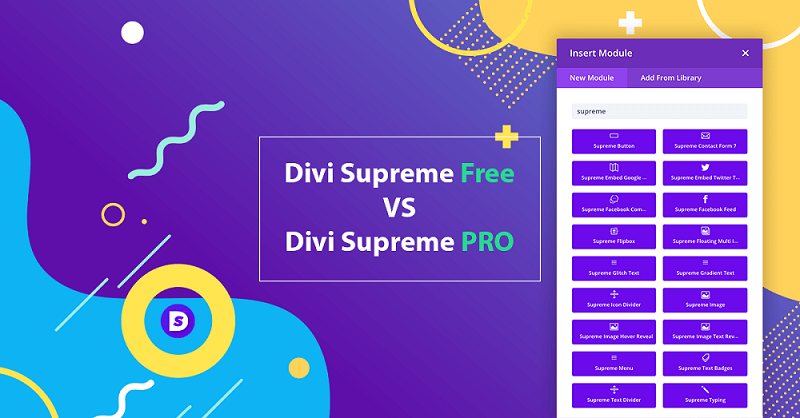 Divi Supreme PRO (3.9.99) - Custom and Creative Divi Modules