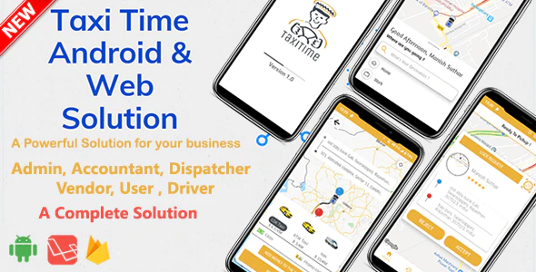 Taxi Time (от 12.03.2020) - Android Taxi Application Complete Solution