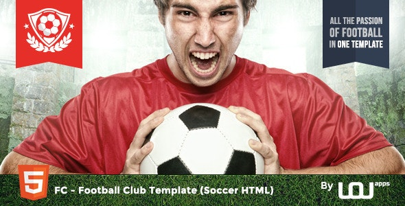 FC - Football Club Template (1.0) - Soccer HTML