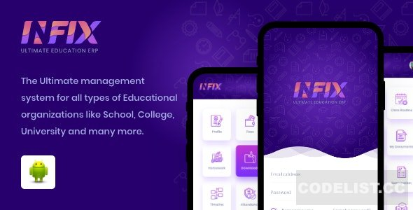 Infix (1.4.4) - School Management app from your android system