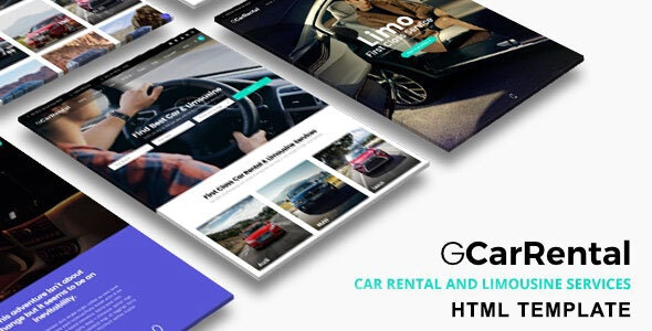 Grand Car Rental (1.0) - Limousine HTML Template