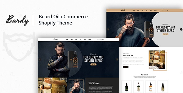 Bardy (2.1.2) - Beard Oil Shopify Theme