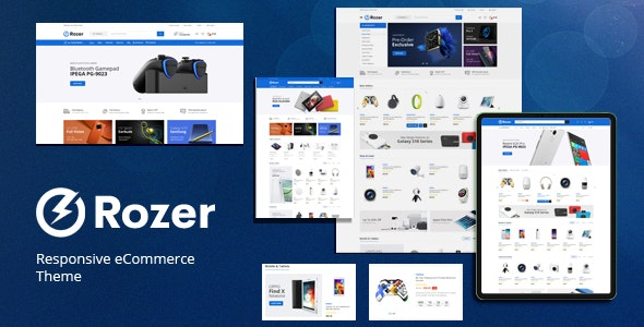Rozer (1.0) - Digital Responsive Prestashop Theme
